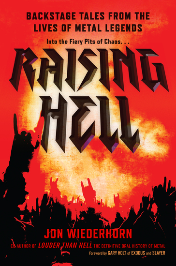 Raising Hell - Backstage Tales from the Lives of Metal Legends - cover