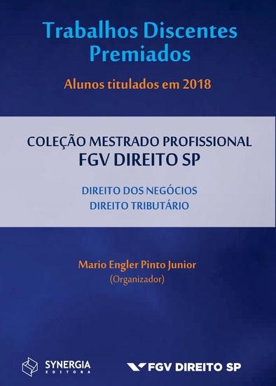 Trabalhos discentes premiados - Alunos titulados em 2018 - cover