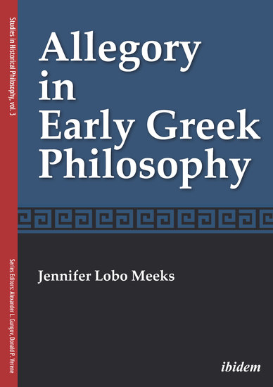 Allegory in Early Greek Philosophy - cover
