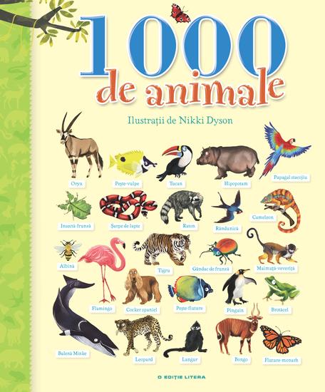 1000 De Animale - cover