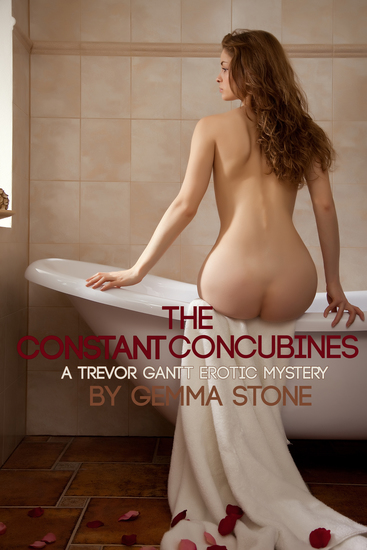The Constant Concubines - A Trevor Gantt Erotic Mystery - cover