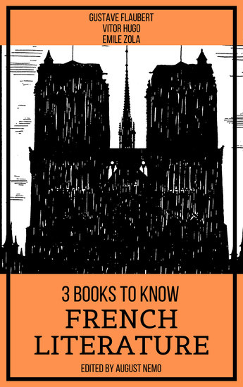 3 Books To Know French Literature - cover