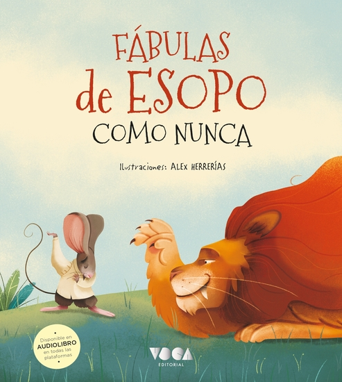 Fábulas de Esopo como nunca - (Latino) - cover