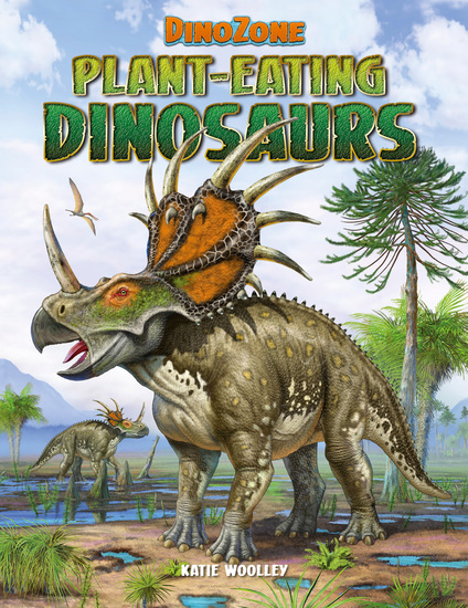 DinoZone: Plant-Eating Dinosaurs - cover