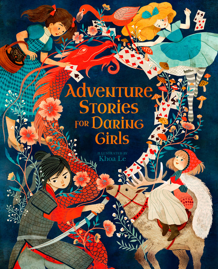 Adventure Stories for Daring Girls - cover