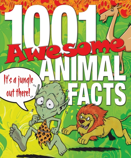 1001 Awesome Animal Facts - cover