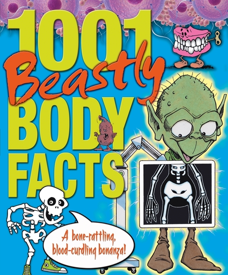 1001 Beastly Body Facts - cover