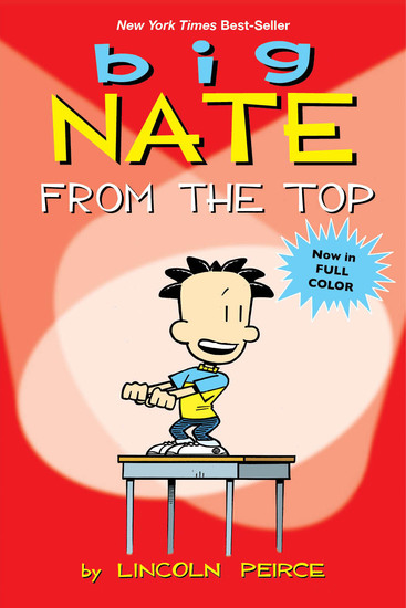 Big Nate - From the Top - cover