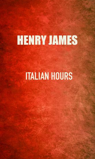 Italian Hours - cover