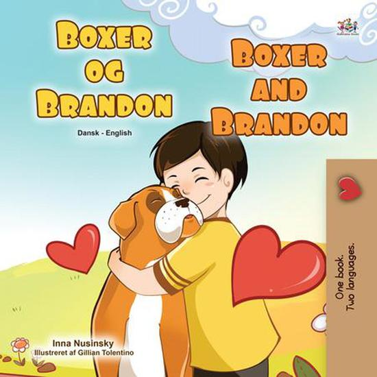 Boxer og Brandon Boxer and Brandon - Danish English Bilingual Collection - cover