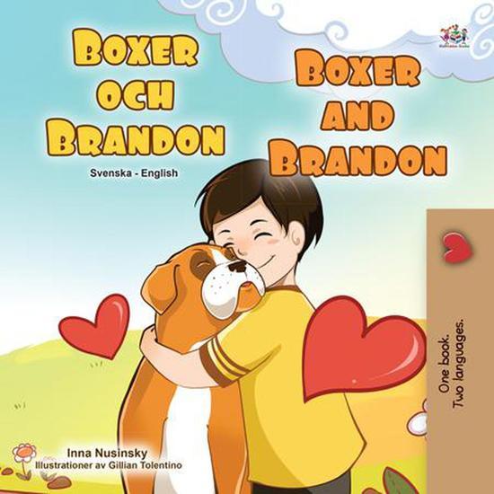 Boxer och Brandon Boxer and Brandon - Swedish English Bilingual Collection - cover