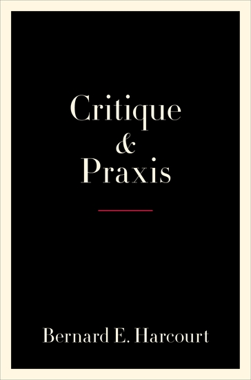 Critique and Praxis - cover