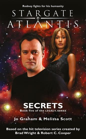 STARGATE ATLANTIS Secrets (Legacy book 5) - cover