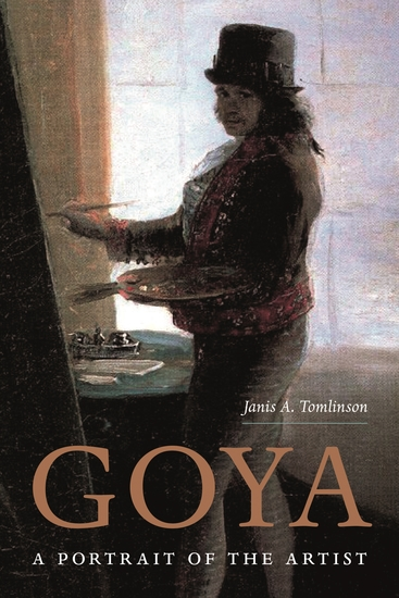 Goya - A Portrait of the Artist - cover