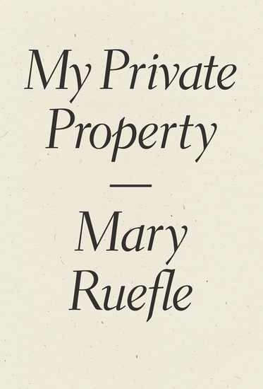 My Private Property - cover