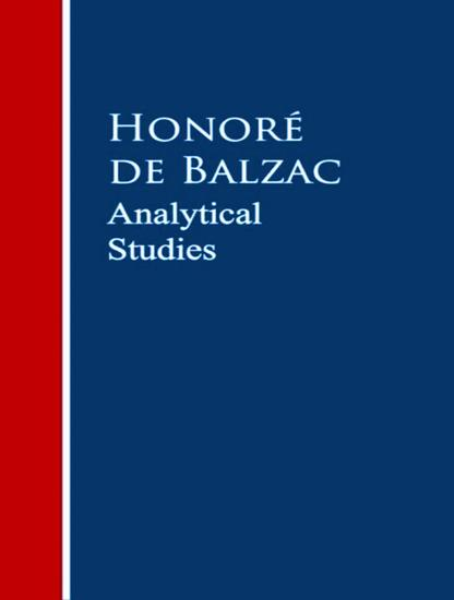 Analytical Studies - cover