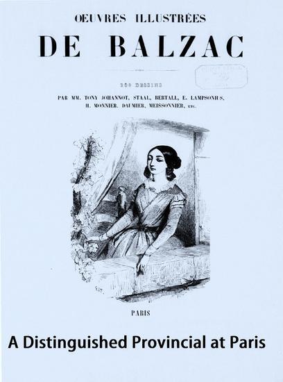 A Distinguished Provincial at Paris - cover