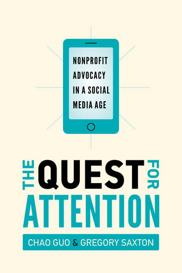 The Quest for Attention - Nonprofit Advocacy in a Social Media Age - cover