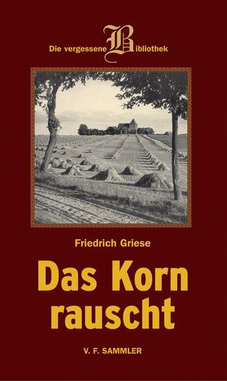Das Korn rauscht - cover