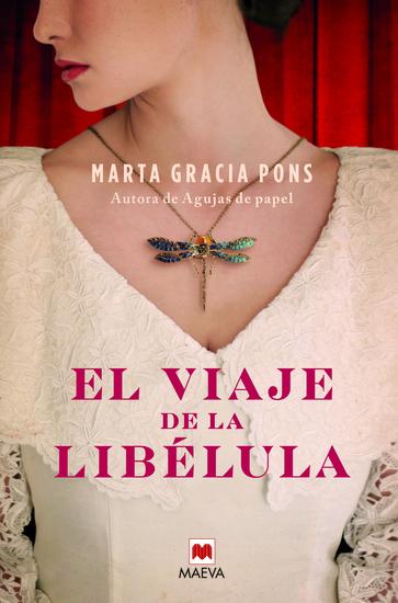 El viaje de la libélula - El poder del destino y la pureza de los diamantes convierten esta novela histórica en una joya por descubrir - cover