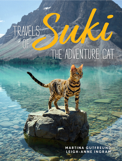 Travels of Suki the Adventure Cat - cover
