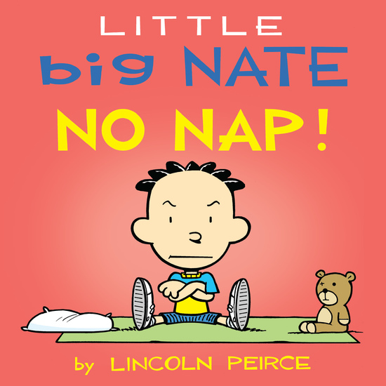 Little Big Nate: No Nap! - cover