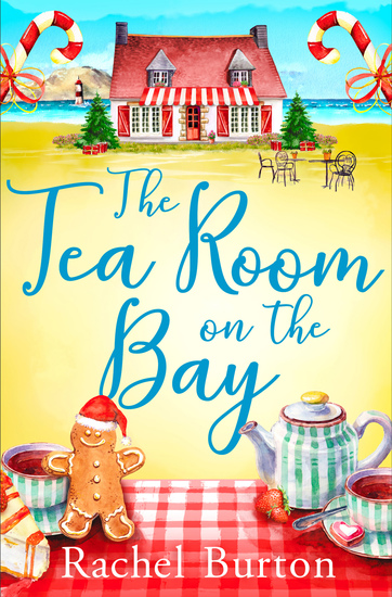 The Tearoom on the Bay - an uplifiting and heartwarming read perfect for Christmas reading - cover