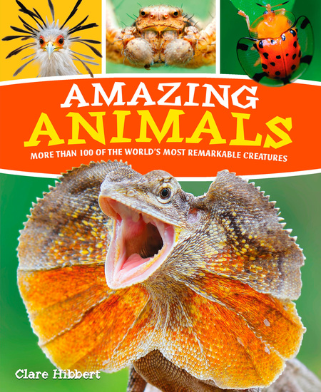 Amazing Animals - More than 100 of the World's Most Remarkable Creatures - cover