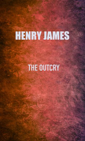 The Outcry - cover