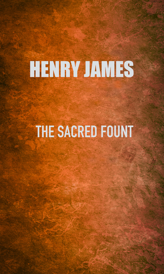 The Sacred Fount - cover