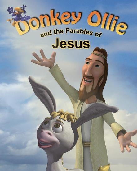 Donkey Ollie and the Parables of Jesus - cover