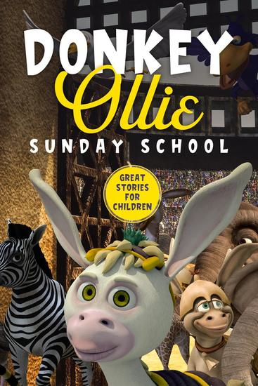 Donkey Ollie Sunday School - cover