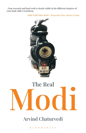 The Real Modi - The Man Who Would be Prime Minister - cover