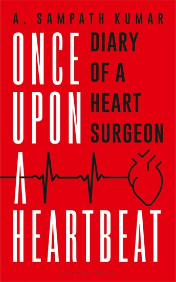 Once Upon a Heartbeat - Diary of a Heart Surgeon - cover