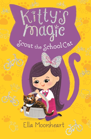 Kitty's Magic 7: Scout the School Cat - cover
