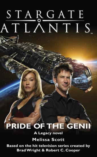 STARGATE ATLANTIS Pride of the Genii - cover
