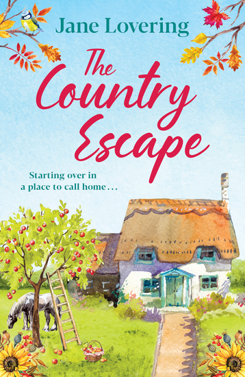 The Country Escape - An uplifting funny romantic read for 2020 - cover