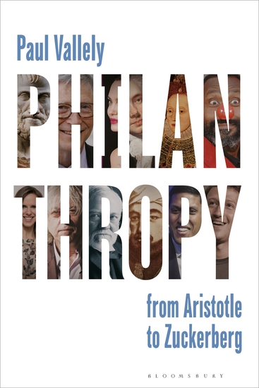 Philanthropy - From Aristotle to Zuckerberg - cover