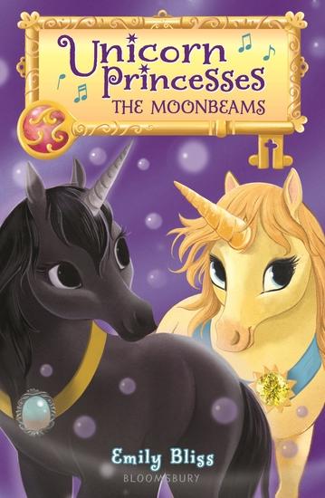 Unicorn Princesses 9: The Moonbeams - cover