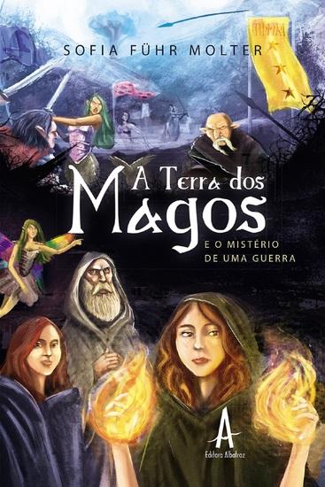 A terra dos magos - cover