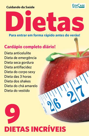 Cuidando da Saúde Ed 9 - Cardápio Dietas - cover
