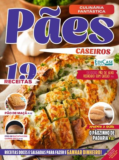 Culinária Fantástica Ed 01 - Pães Caseiros - cover