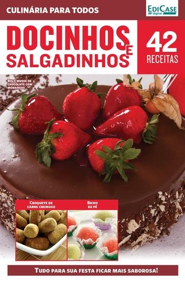 Culinária Para Todos Ed 10 - Docinhos e Salgadinhos - cover