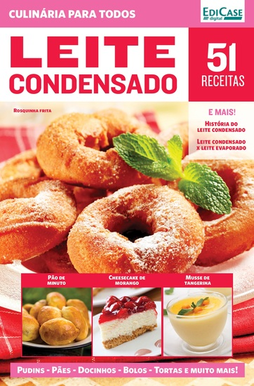 Culinária Para Todos Ed 12 - Leite Condensado - cover