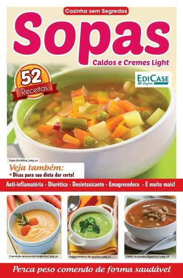 Cozinha Sem Segredos Ed 17 - Sopas Caldos e Cremes Light - cover