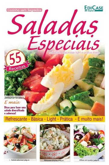 Cozinha Sem Segredos Ed 18 - Saladas Especiais - cover