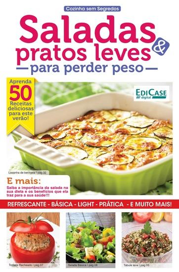 Cozinha Sem Segredos Ed 19 - Saladas e Pratos Leves - cover