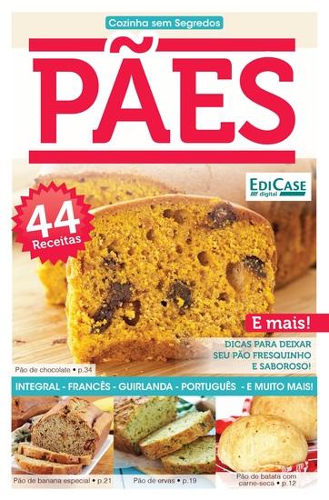 Cozinha Sem Segredos Ed 21 - Pães - cover