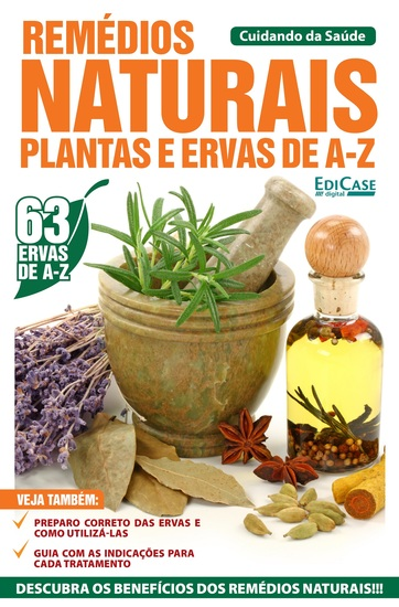 Cuidando da Saúde Ed 22 - Remédios Naturais - cover
