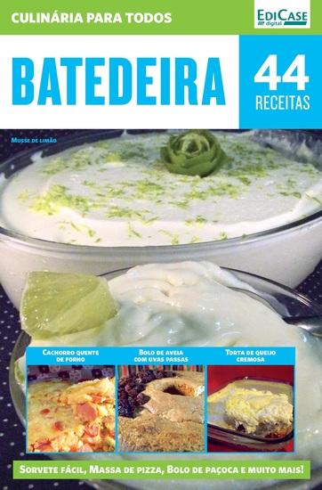 Culinária Para Todos Ed 3 - Batedeira - cover